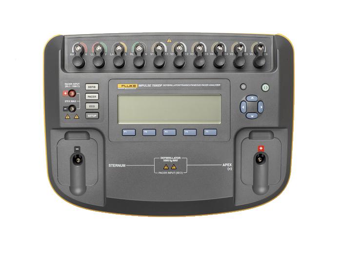 IMPULSE 7000 DP 5 - Analisador de Desfibrilador e Marca Passo Transcutâneo IMPULSE 7000 DP