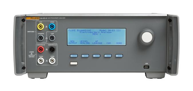 QA ES III 4 - Analisador de Unidade Eletrocirúrgica QA ES III