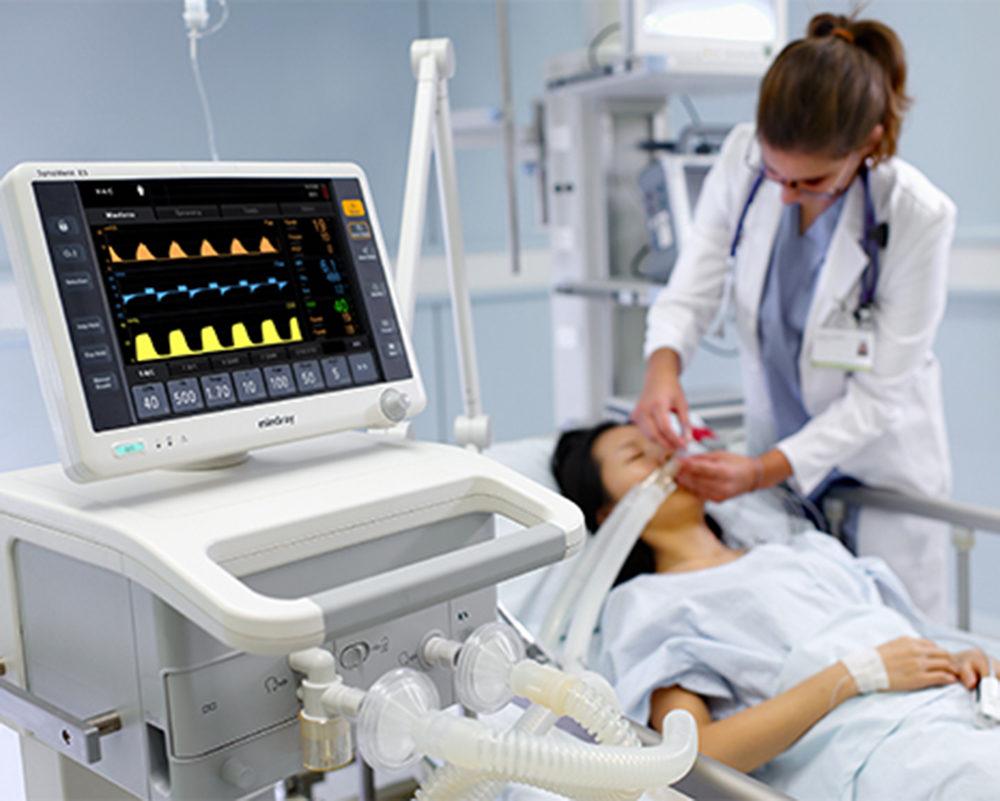 Ventilador Pulmonar Synovent E3   Agile Med   Equipamentos e Serviços Hospitalares