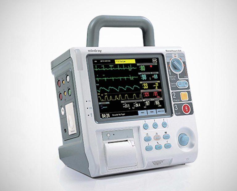 cardioversor desfibrilador d6 2 768x620 - Cardioversor/ Desfibrilador/ Monitor BeneHeart D6
