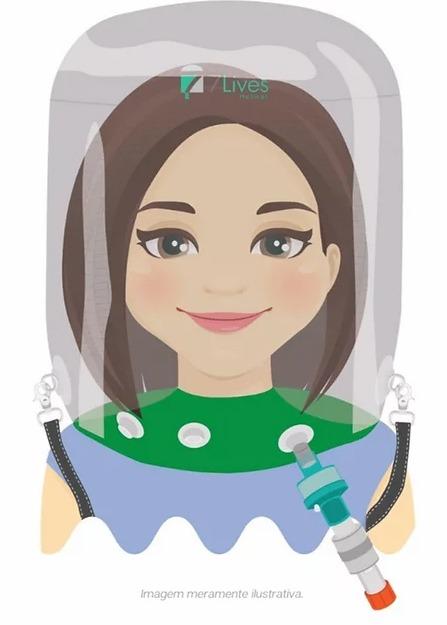 7Lives Helmet   Agile Med Equipamentos e Serviços Hospitalares