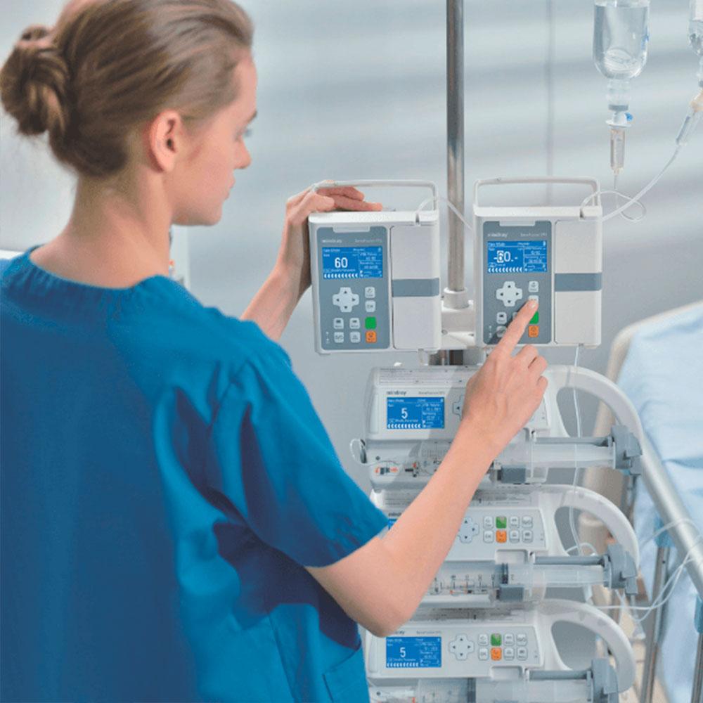 Bombas de Infusão BeneFusion SP3 | Mindray | Agile Med | Equipamentos e Serviços Hospitalares