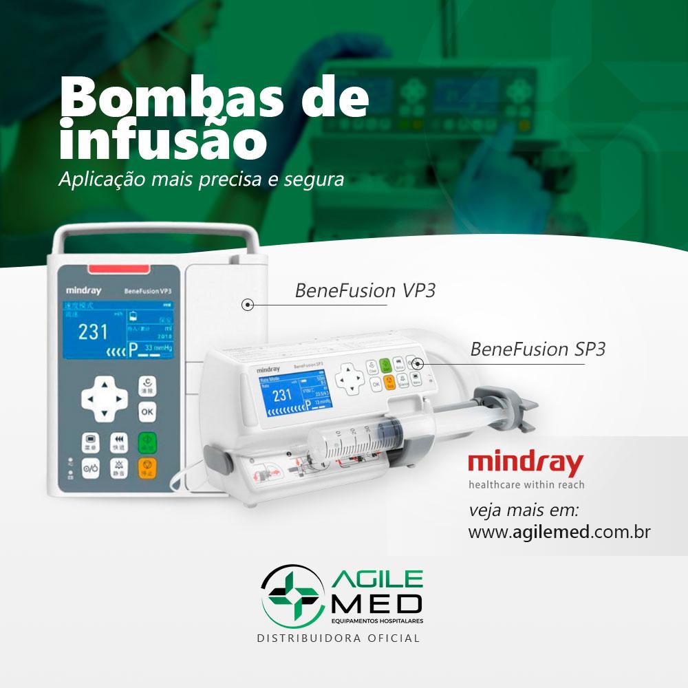 Bombas de Infusão Mindray | Agile Med | Equipamentos e Serviços Hospitalares
