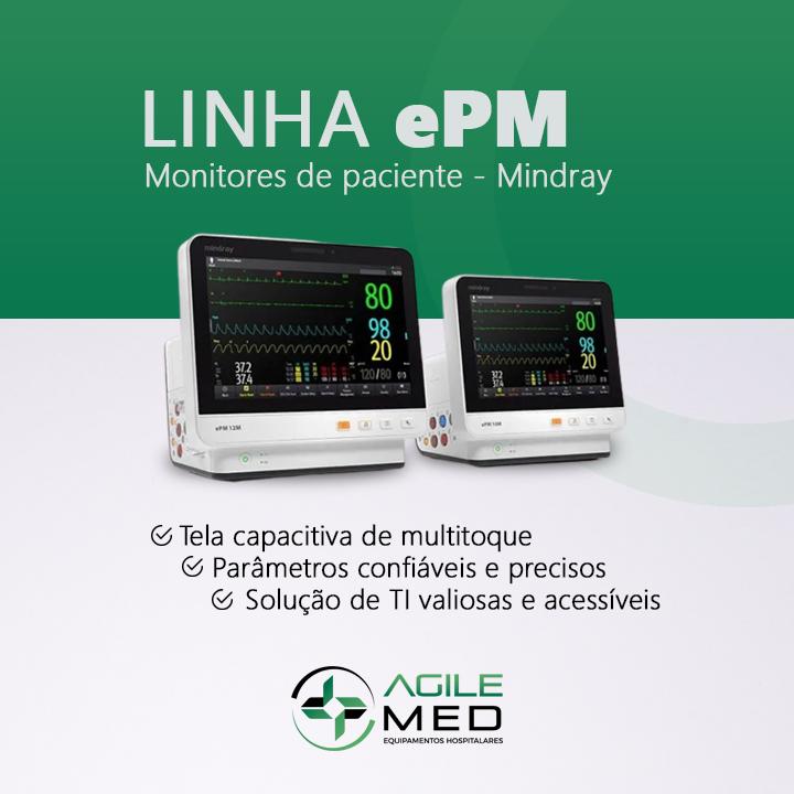 Linha ePM Mindray | Agile Med Equipamentos e Serviços Hospitalares